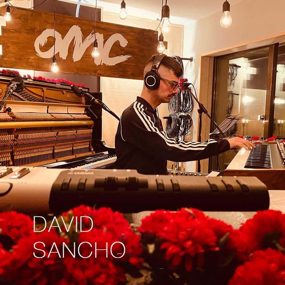 David Sancho ha grabado y mezclado en nuestro estudio