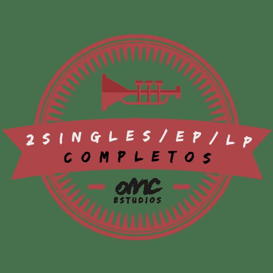 Promoción doble single ep o lp