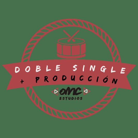 Promoción doble single con producción